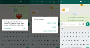 Gönderdiğiniz WhatsApp mesajını nasıl silersiniz 2