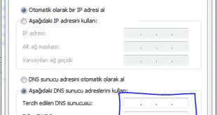 twitter ve youtube'a girmenin yolları ve DNS ayarlarını değiştirme... (Resimli anlatım) 8