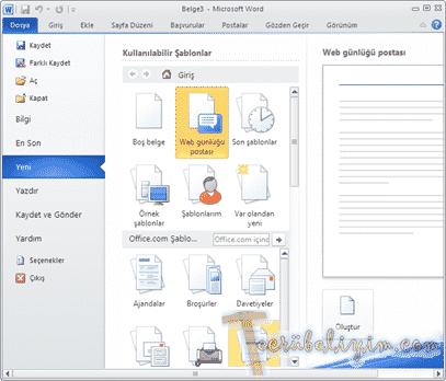 Microsoft Word İle WordPress Günlüğümüze Makale Ekleme