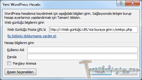 Microsoft Word İle Wordpress Günlüğümüze Makale Ekleme 5