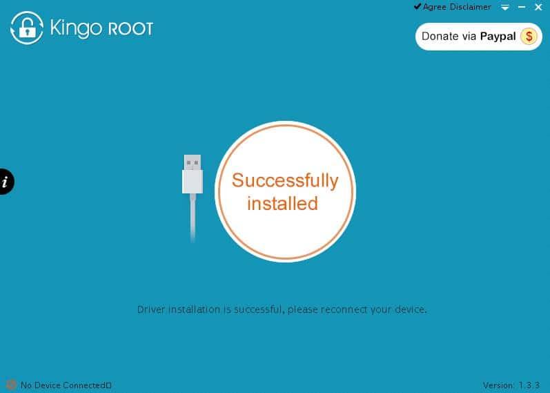 kingoroot_succesfull